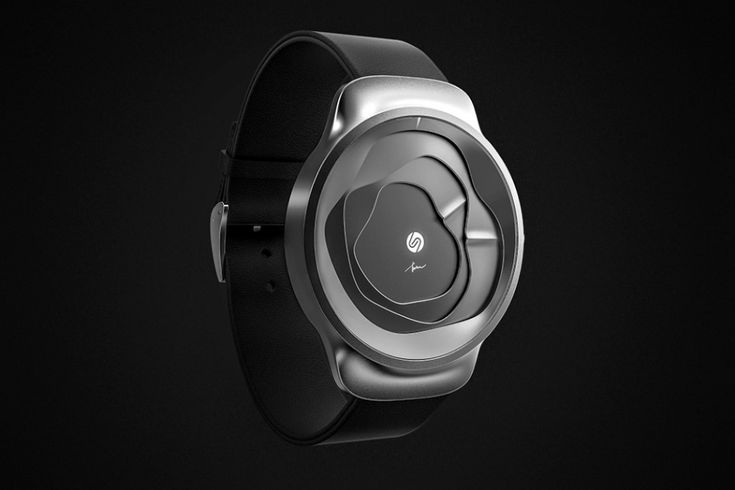 The Gemic Watch Tells Time Through Undulating 3D Surfaces | Yanko Design