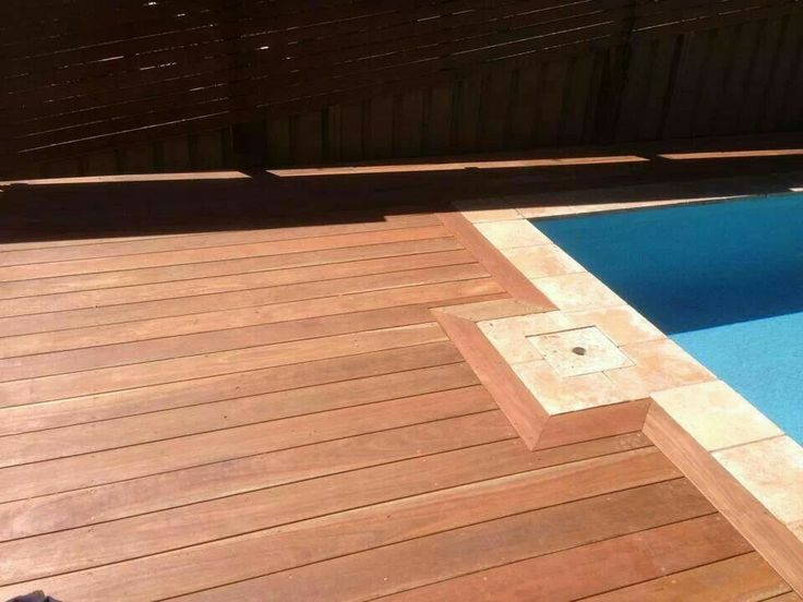Custom outdoor creations spotted gum deck