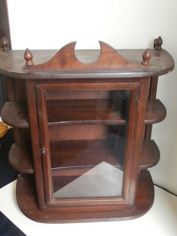 Hanging Or Standing Curio Cabinet By Pascalene On Etsy, $98.00