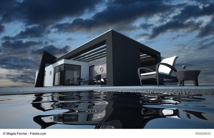 Wir möchten unsere Fassade gerne komplett in Schwarz oder in ganz dunklem Grau / Anthrazit. Wäre das so möglich? Diese Fragen bekommen wir in letzter Zeit immer häufiger und ich muss sagen, dass ich die Vorstellungen einer dunklen Fassade mit der entsprechenden Architektur ziemlich stark finde. Doch geht das so einfach?