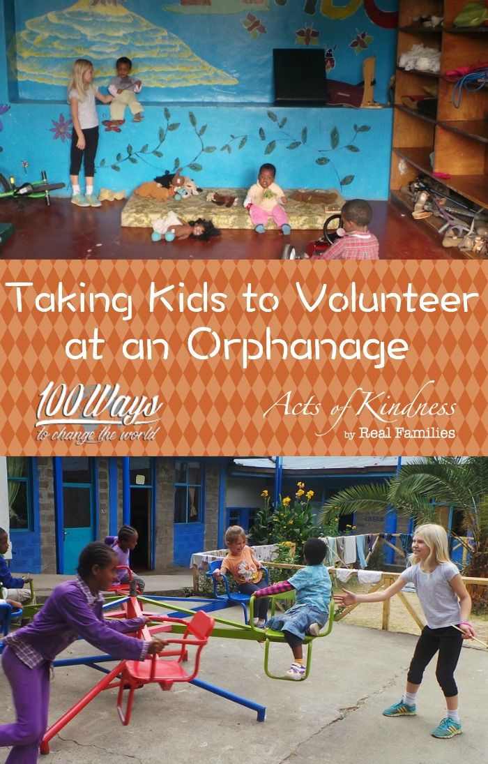 Learn from the experience of one family about taking your kids to volunteer at an orphanage