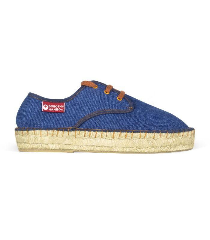 Alpargatas originales de esparto con suela de plataforma para mujer online color azul vaquero #moda #fashion #alpargatas #espadrilles #españa #mujer #trendy #coleccion #urban #primavera #spring #verano #new #woman #femenina #complementos #trends #tendencias #summer #hipster #vintage #retro #chic #boho #urbanchic #ibiza #design #diseño #calzado #zapatos #design #shoes #fashion #handamade #footwear #esparto #yute #outlet #decoradas #cordones #plataforma #españolas #estampadas #espardenya