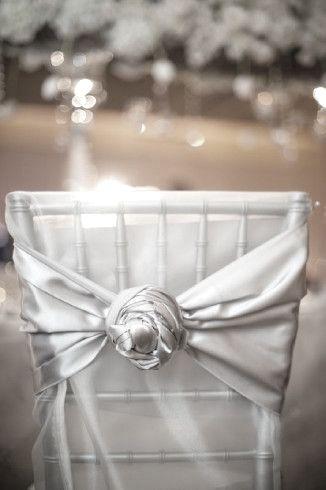Chair Decor ● Silver