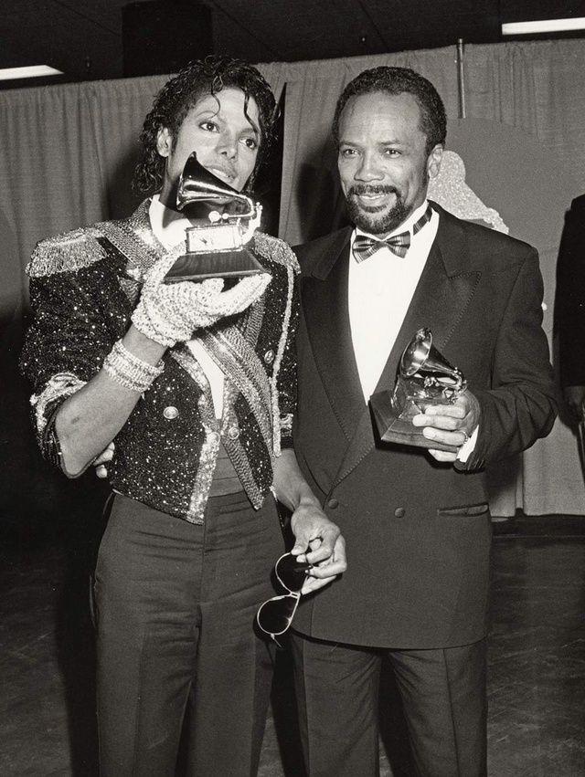 Michael Jackson and Quincy Jones