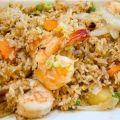 Как приготовить рис с креветками  - рецепт, ингредиенты и фотографии
