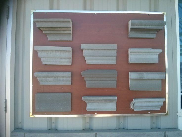 Edmonton Alberta - Stucco Moulding Trim Options - By: My Custom PRO