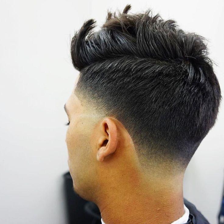Haircut by barberlessons_ http://ift.tt/1PRvogM #menshair #menshairstyles…