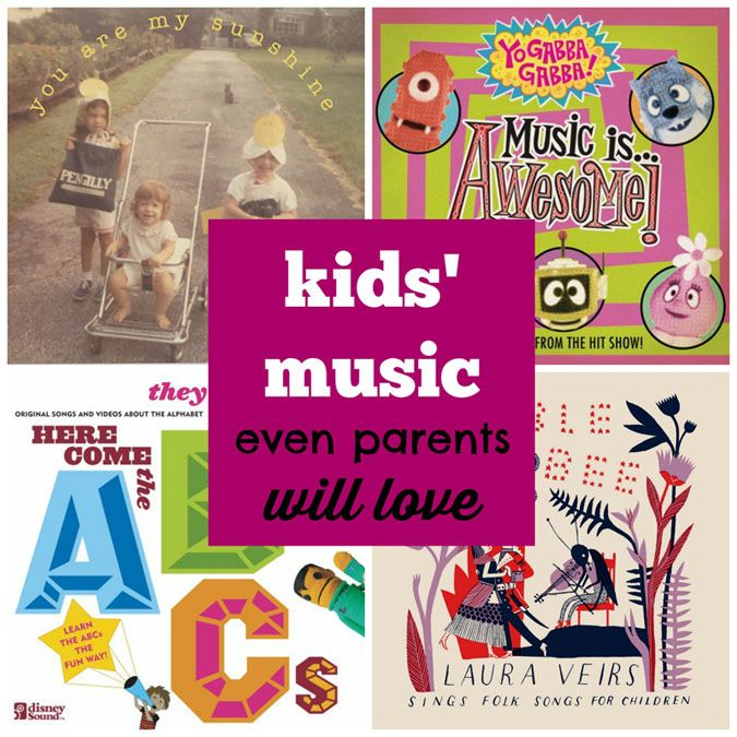 Kids' Music Even Parents Will Love - Tipsaholic.com #music #kids