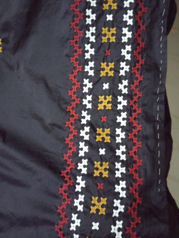 A closer look at kutch work