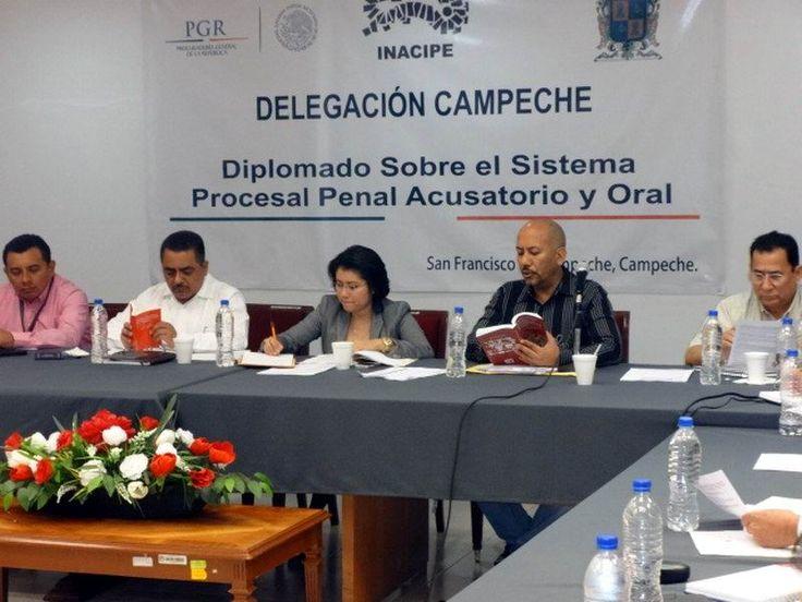 Intensifica PGR capacitación en Campeche rumbo al sistema de justicia penal acusatorio