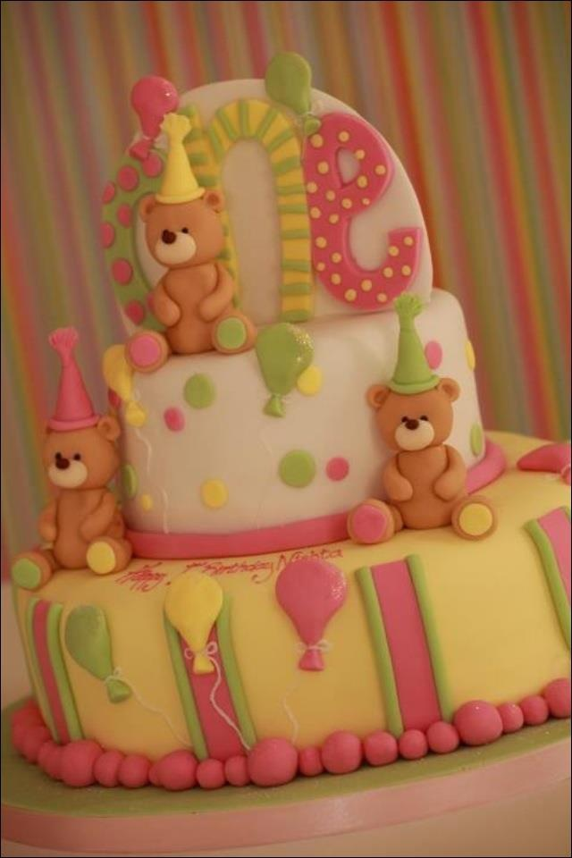 Love- so sweet!Bears Cake, Cake Ideas, Bears Parties, Parties Cake, Cake Decor, 1St Birthday Cake, Birthday Bears, Bears Birthday, Baby Shower Cake
