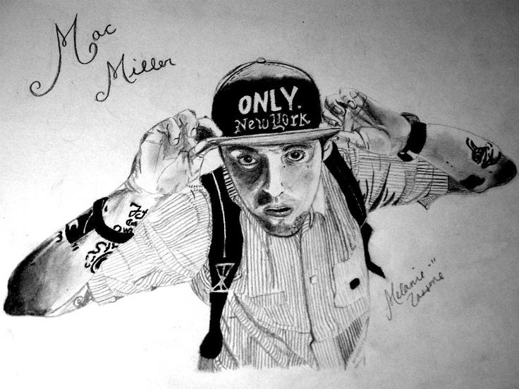 My Mac Miller drawing.Mac Miller, Miller Drawing