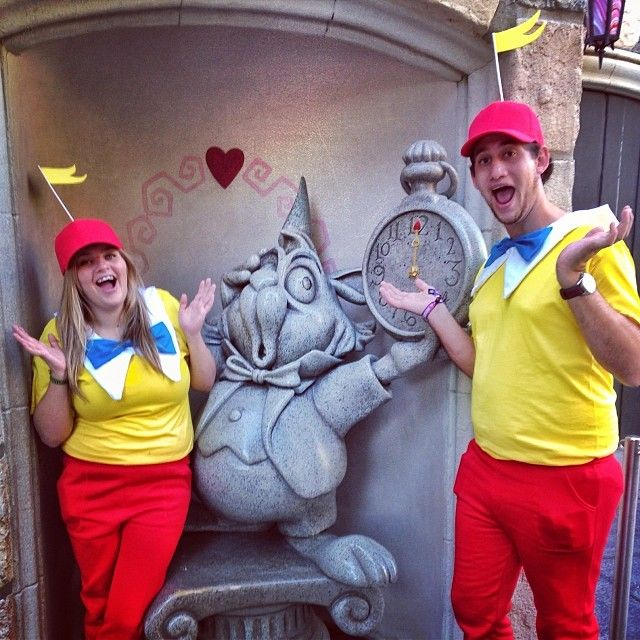 Pin for Later: 120+ Easy Couples Costumes You Can DIY in No Time Tweedledee and Tweedledum