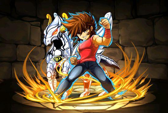 Cavaleiro de bronze  - Seiya de Pegasus - versão chibi