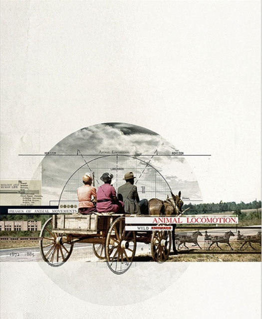 Old Paper / collage by Rodrigo De Filippis. via Design Observer.
