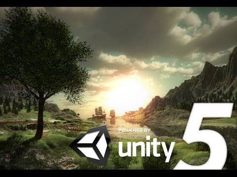 Speed Level Design - A New World - Unity 5 and World Machine - YouTube