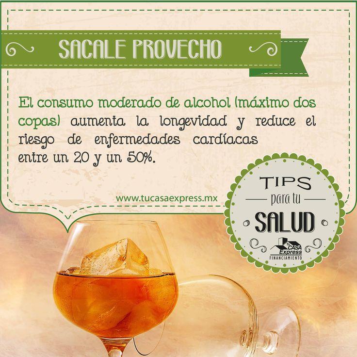 El alcohol, con moderación, puede tener algunos beneficios. #TipsExpress