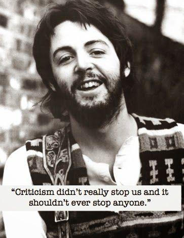 paul mcartney quotes | Paul Mccartney Inspirational Quotes. QuotesGram