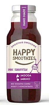 (H)Koktajl owocowy Happy Smoothie - happy purple JUNIOR x 12 szt
