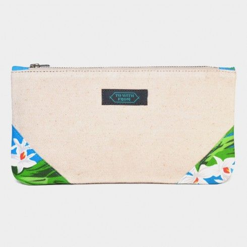 Off White Okinawa Pouch Online at Tadpole Store