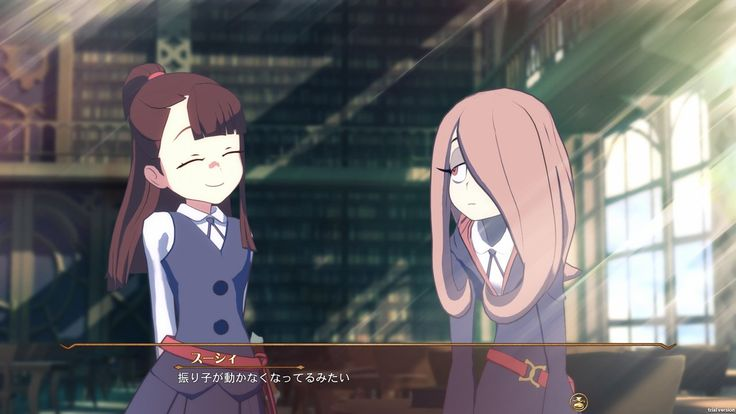 Little Witch Academia game announced (PS4) - Page 2 - NeoGAF