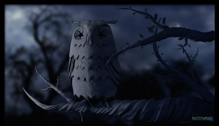 the owl of paper