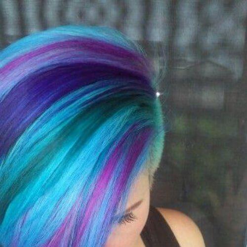 1013 best Haar Farben images on Pinterest