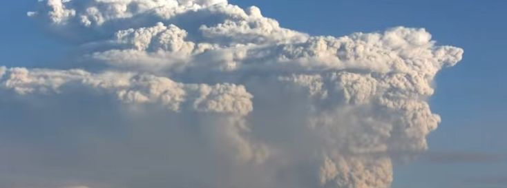 Major eruption at Bezymianni volcano, ash to 15.2 km (50 000 feet), Aviation Color Code Red