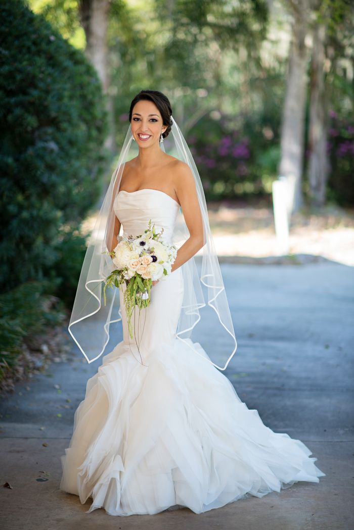 Elegant Lavender, Ivory & Blush Orlando Rooftop Wedding by Kristen Weaver Photography