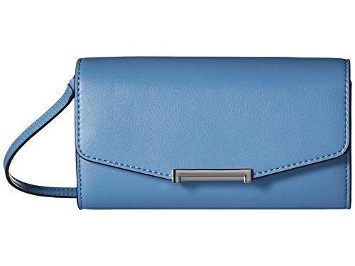 Women's Styles Cross-Body Bags Ivanka Trump Mara Crossbody Wallet, Cornflower