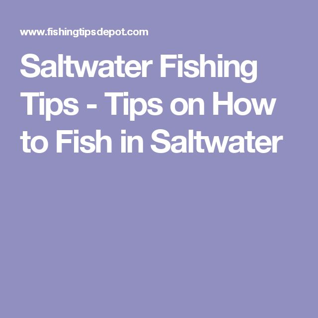 Best 25 saltwater fishing ideas on pinterest tie for Saltwater fishing basics