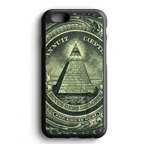 Pyramid Eye Money iPhone 7 Case
