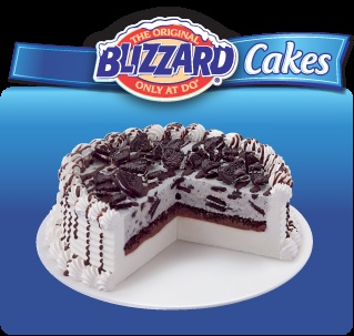 DQ Blizzard Oreo Cake | Need to add these to my recipe book.... | Pin ...