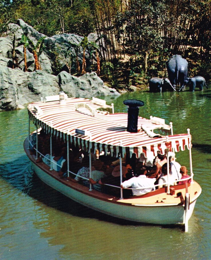 """Jungle Cruise - Disneyland, California  I thought our """"guide"""" was so funny...come to find, it was all a script....oh well I loved it and my kids will too! #treasuredtravel"""