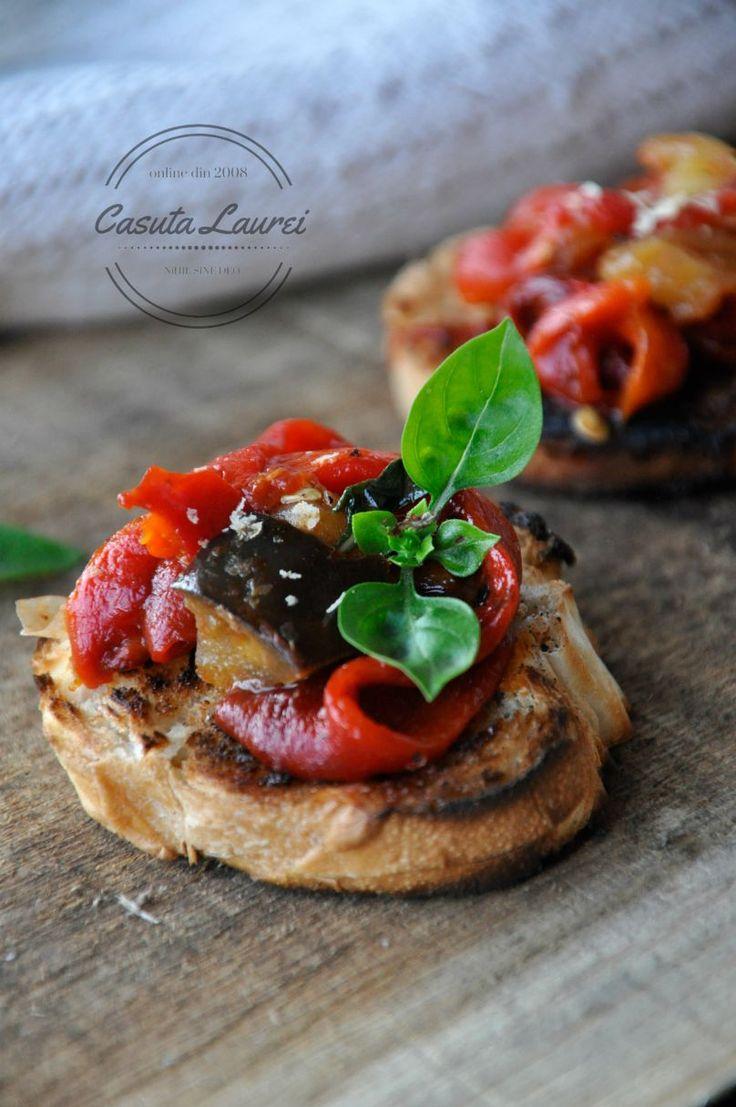 Crostini cu legume varatice via @casutalaurei