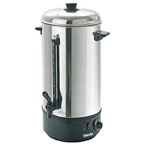 Distributeur d'eau chaude 10 Litres / machine à vin chaud: Distributeur d'eau chaude (percolateur), boîtier et couvercle en inox, socle en…