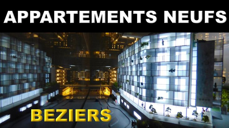 Nouvelle vidéo des EXPERTS DU NEUF sur une belle résidence dans le Béziers contemporain ! Dernier étage mis à la vente !