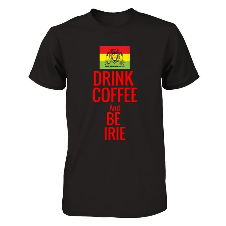 DRINK COFFEE and BE IRIE I've designed this Scotty D's Jamaican Coffee LIMITED EDITION T-Shirt and Hoodie for all serious coffee drinkers. #scottydcoffee  www.scottydcoffee.com  *Various styles available*  [Hoodie Available in Style Drop-Down]