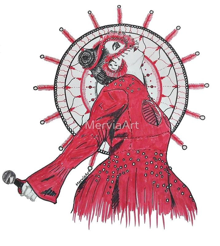 Another Björk and Mandala combination by MerviaArt. This time inspiration comes from fresh concert of her in London. Photographer is Santiago Felipe. • Buy this artwork on apparel, stickers, phone cases, and more.