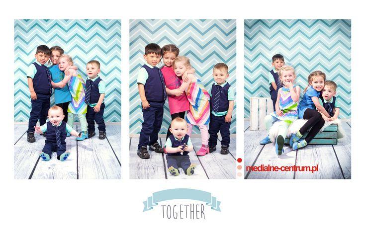 studyjna fotografia dziecięca grupowa i rodzinna