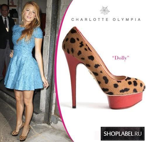 Купить туфли от charlotte olympia