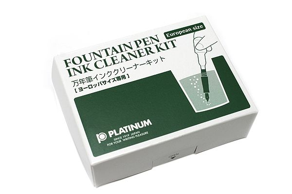 Platinum Fountain Pen Ink Cleaner Kit - European Model -- Available in Japanese Model too