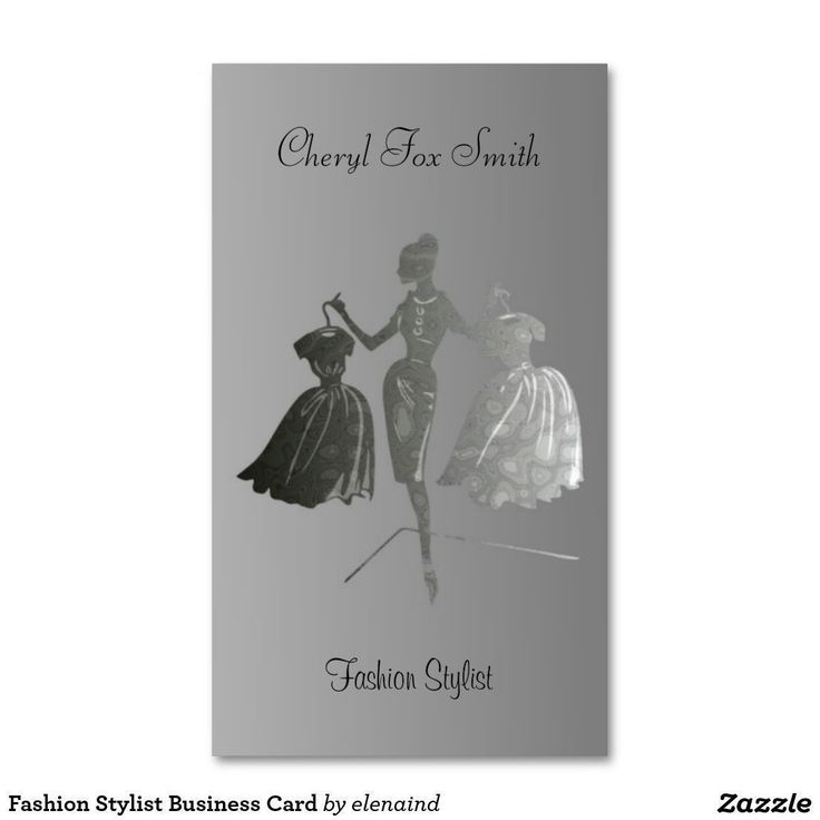 Fashion Stylist Business Card The 4353 best
