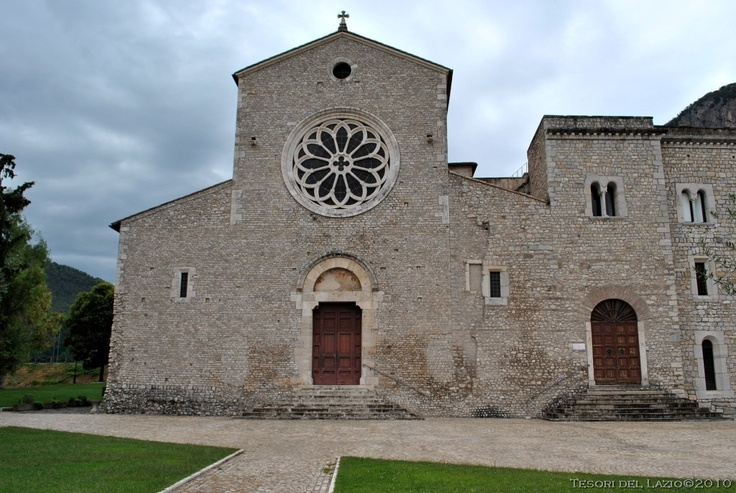 Sermoneta (Latina) - Abbazia di Valvisciolo - Photo G. Garofoli (09-2010) - © All rights reserved - Tesori del Lazio