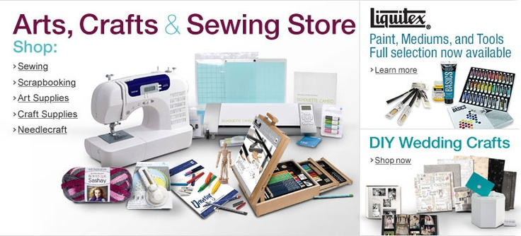 Arts crafts sewing shop for sewing machines notions for Arts and crafts sewing machine