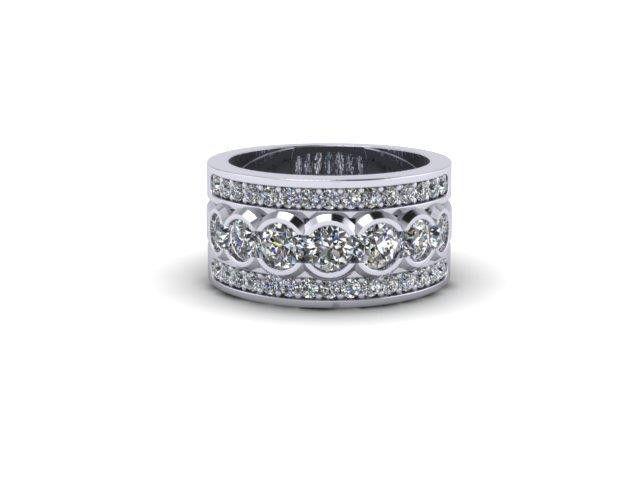Custom Design Fashion Ring – Dana's Goldsmithing