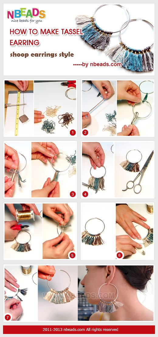 Summary: Hoop earrings with tassels are coming! Are these the fashion earrings…