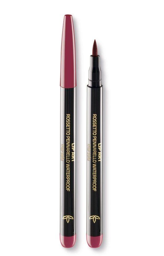 Euphidra Lip Art Rossetto Pennarello Colore Marsala