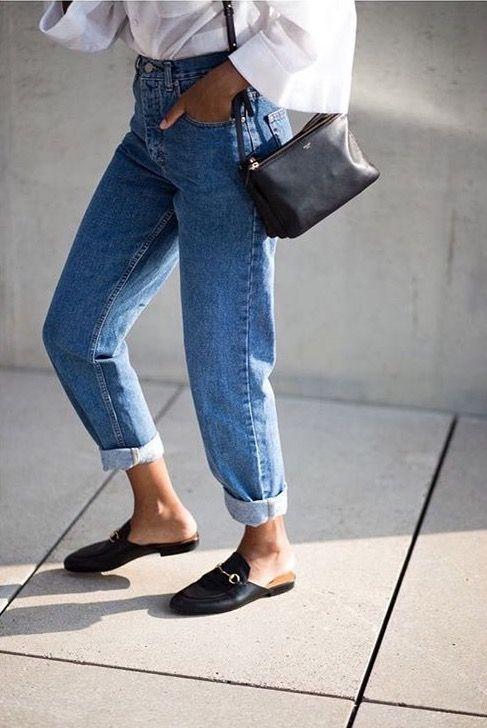 capsule wardrobe: mid rise boyfriend jeans | curated by ajaedmond.com | capsule wardrobe | minimal chic | minimalist style | minimalist fashion | minimalist  wardrobe | back to basics fashion