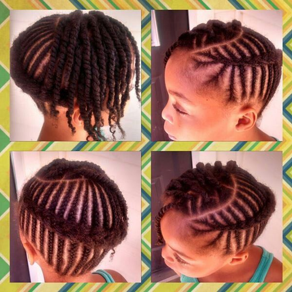 Peachy 1000 Images About Natural Kids Cornrows On Pinterest Hairstyles For Women Draintrainus